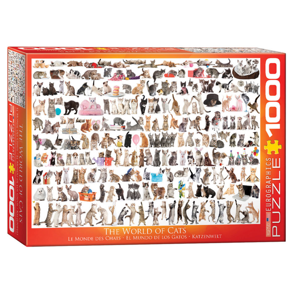 The World of Cats 1000PC Puzzle