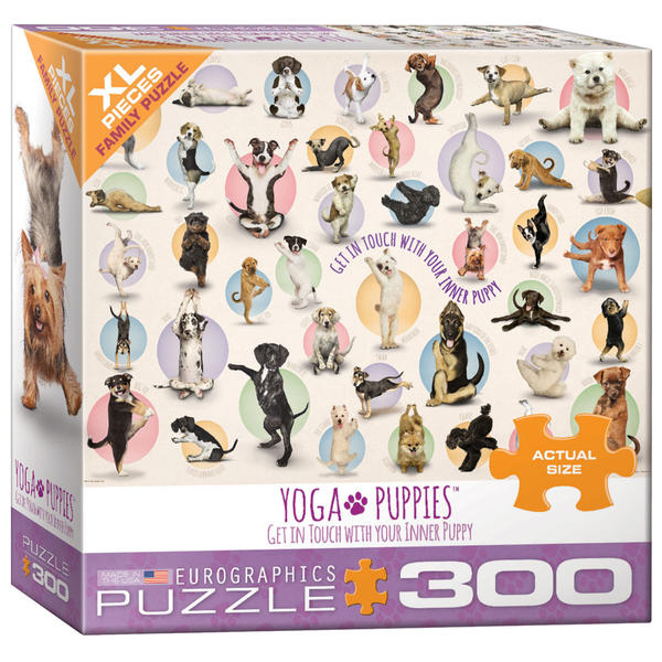Yoga Puppies 300PC Puzzle