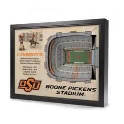 3D Stadium Wall Art - OSU