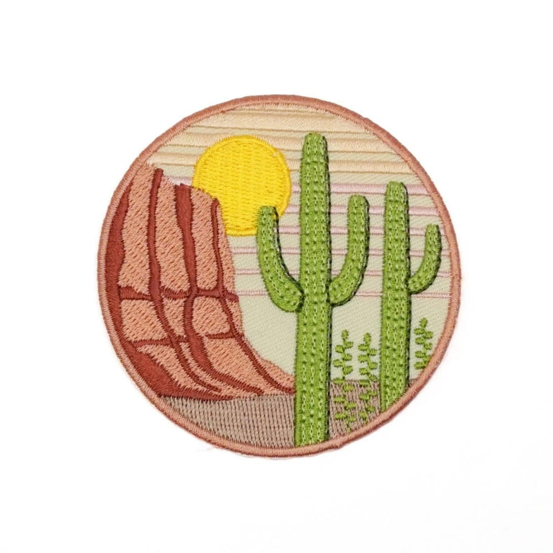 Saguaro Embroidered Patch