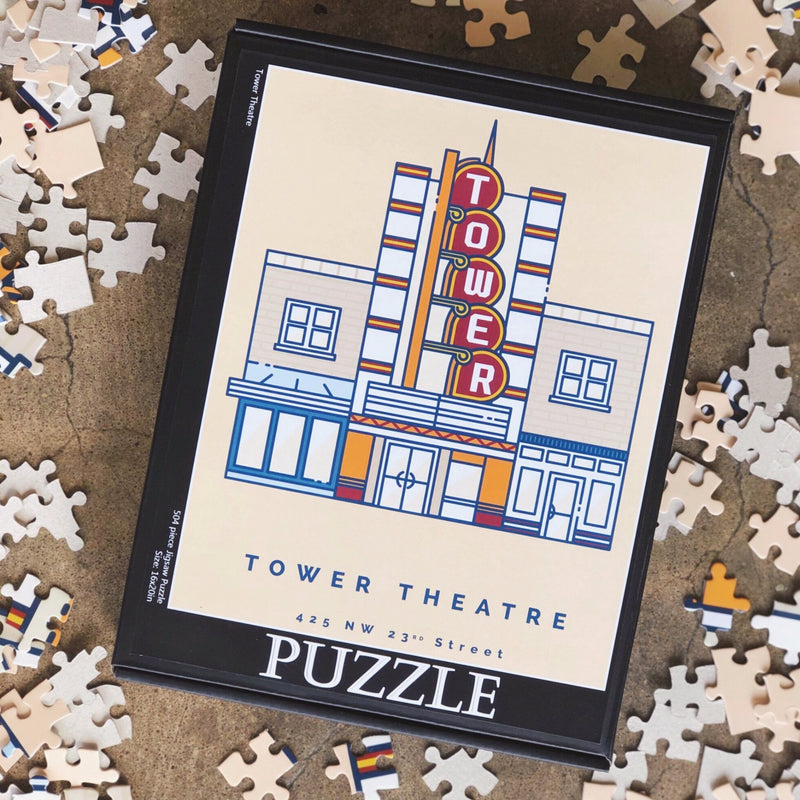Jigsaw Tower Theatre Puzzle