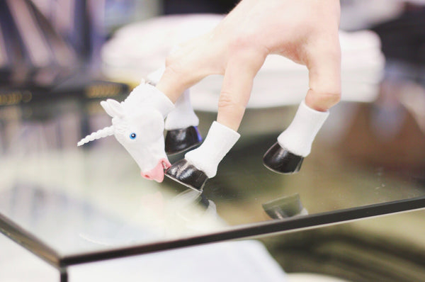 Accoutrements Handicorn Finger Puppet