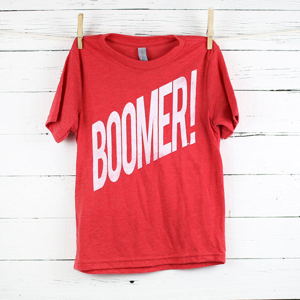 FINAL SALE Kid's Boomer Wham! Tee