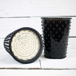 Forest Night Hobnail Candle