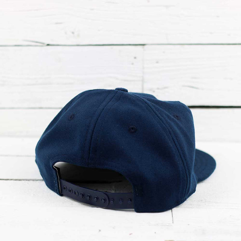 Ebbets OK Wool Hat - Navy