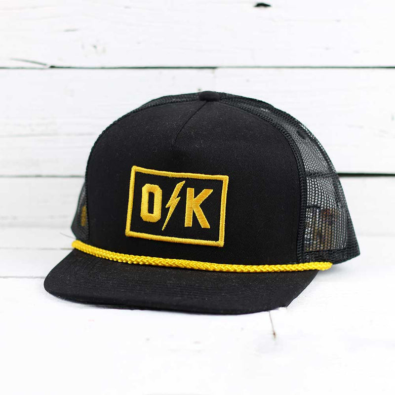 O Bolt K Trucker Hat