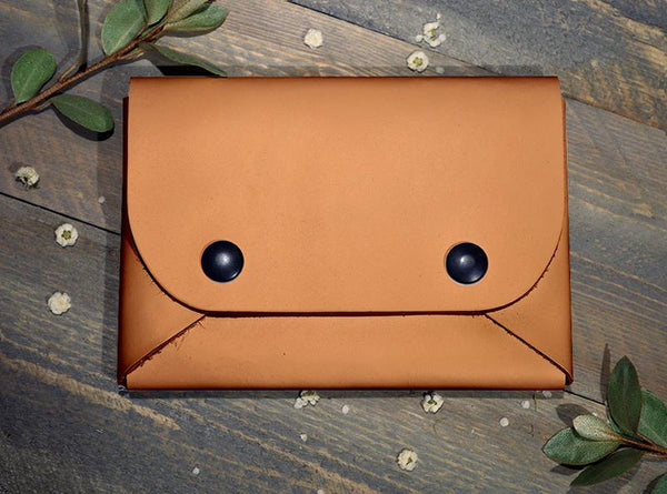Backerton Orange Midi Wallet
