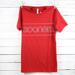 OU Sooners Puff Ink Tee