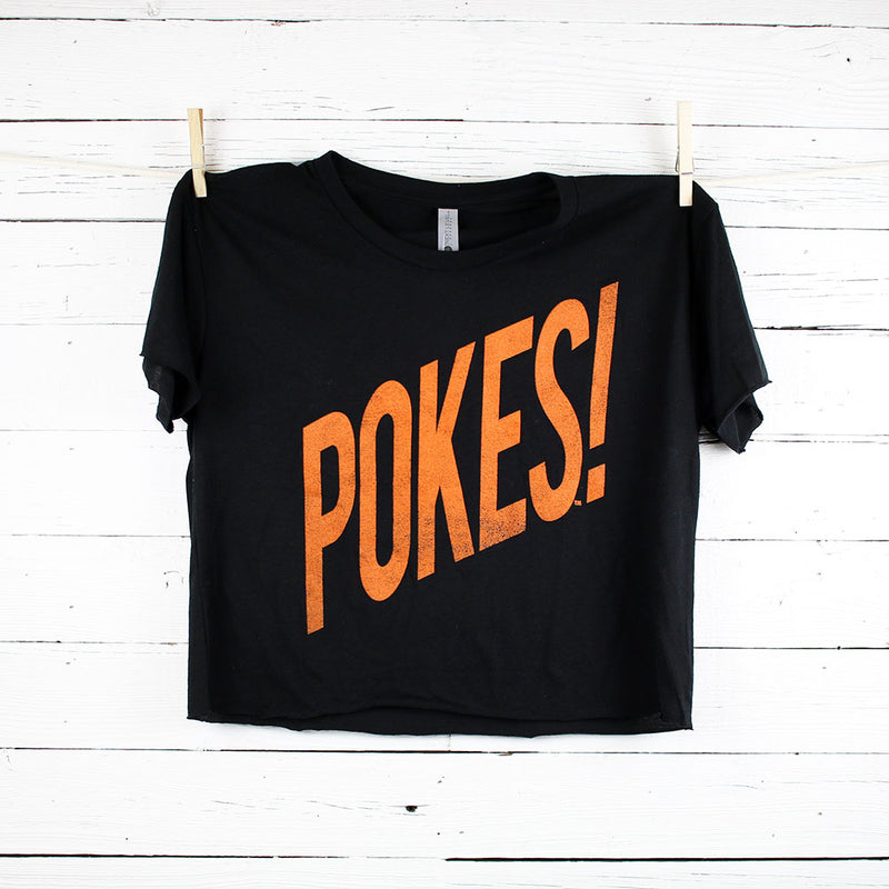FINAL SALE Pokes Wham! Cropped Tee