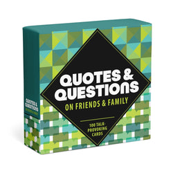Quotes & Questions: Family