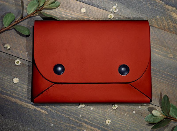 Backerton Red Midi Wallet