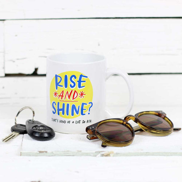 Emily McDowell Rise and Shine Mug