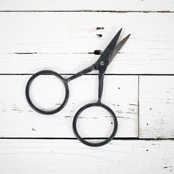 Vagabond Hand Wrought Iron Scissors w/Twisted Handles