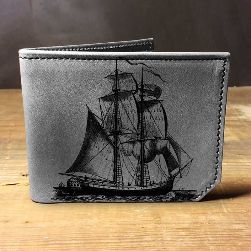 Backerton Leather Wallet - Ship