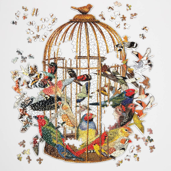 Bouquet of Birds 750 PC Puzzle
