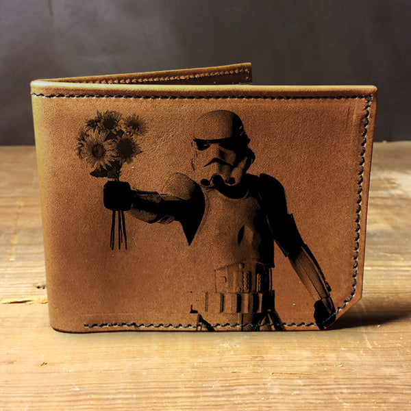 Backerton Leather Wallet - Storm Trooper