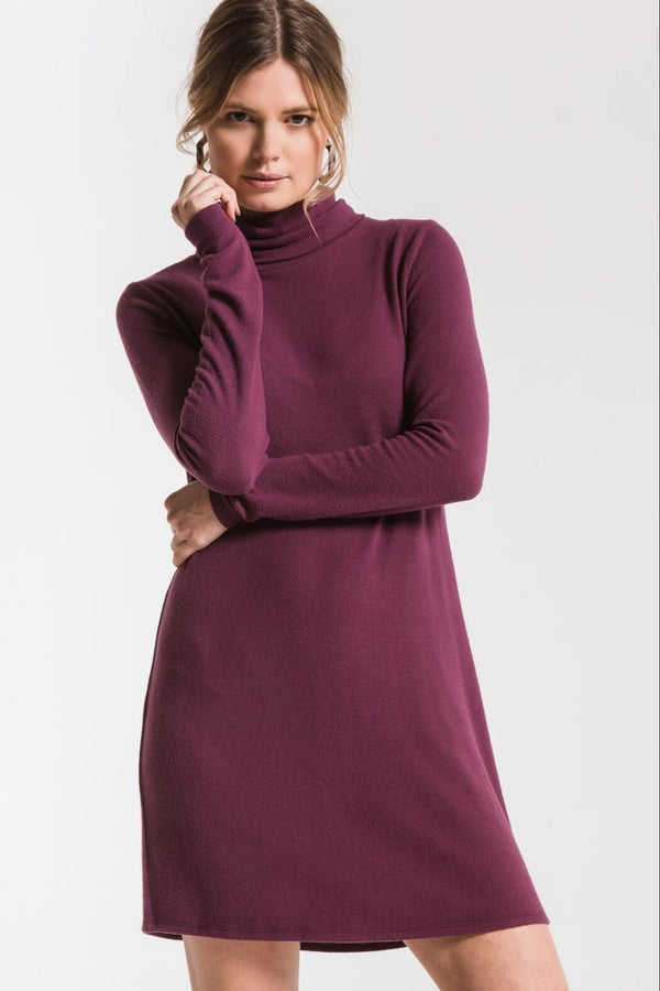 FINAL SALE The Sweater Knit Turtle Neck Dress
