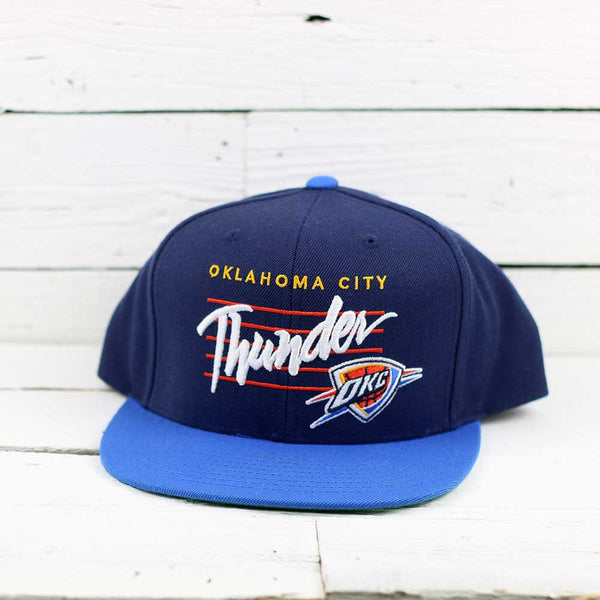 Mitchell & Ness Between The Lines Thunder Snapback