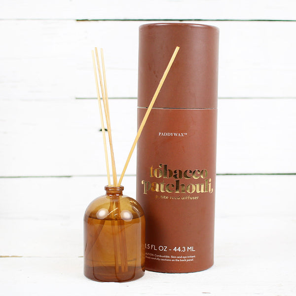 Petite Diffuser 1.5oz Amber Glass - Tobacco Patchouli