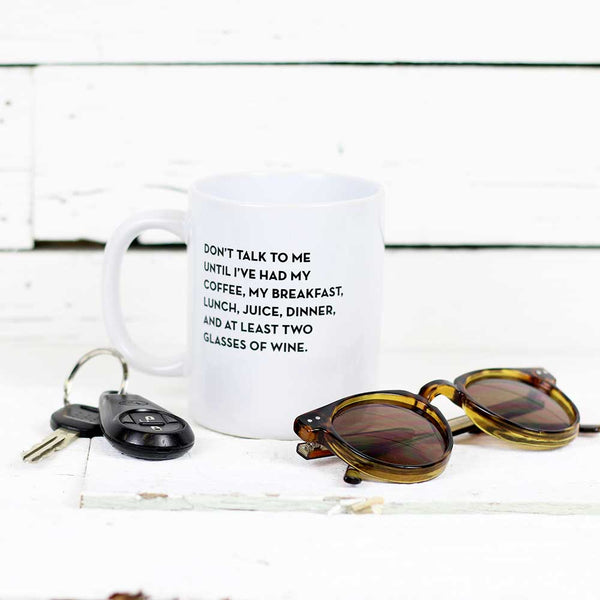 Sapling Press Mug - Don't Talk To Me