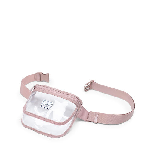 Fifteen Hip Pack | Clear - Ash Rose/Clear