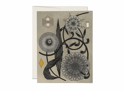 Floral Geometry Everyday Card