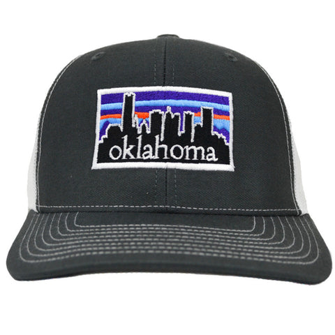 Just OK Charcoal Skyline Adjustable Hat