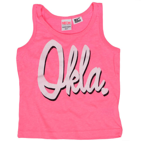 OKLA Barbie Pink Kids Tank