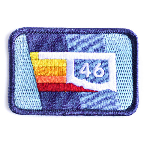 Oklahoma Rainbow 46 Patch