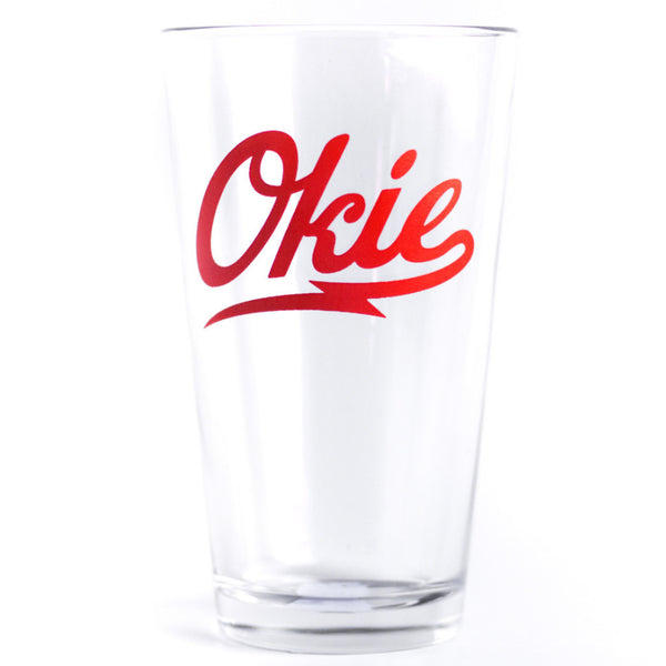 Okie Pint Glass