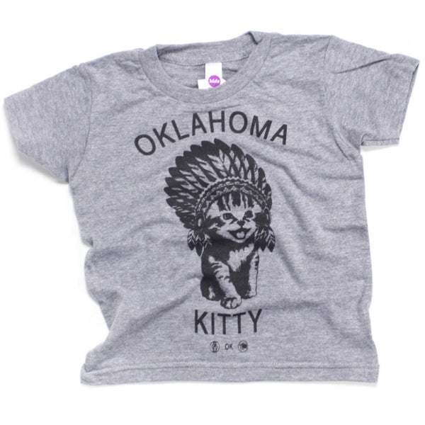 Oklahoma Kitty Kids Tee