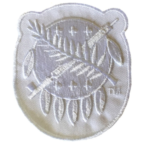 White Osage Shield Patch
