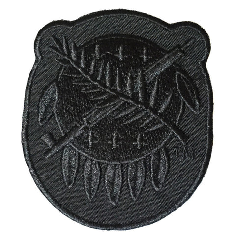 Black Osage Shield Patch