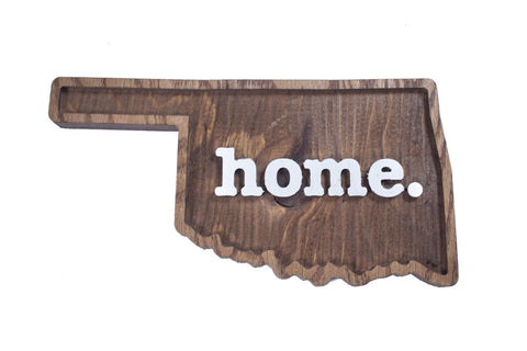 The Home. Wood Plaque