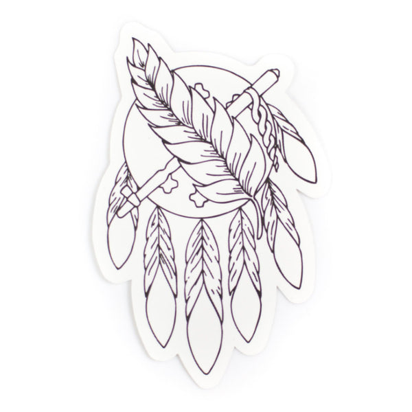 Osage Outline Sticker