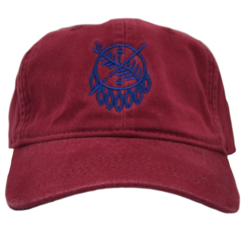 Osage Stitch Ruby Adjustable Hat