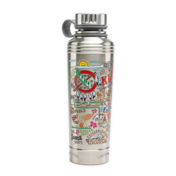 Oklahoma Thermal Water Bottle