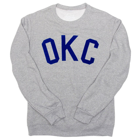 Flocked OKC Sweatshirt