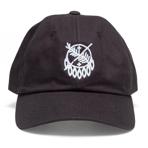 Osage Shield Stitch Black Hat