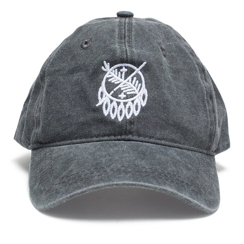 Osage Shield Stitch Charcoal Hat