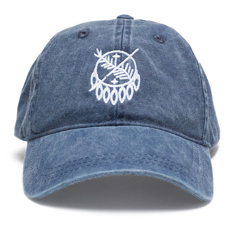 Osage Shield Stitch Navy Hat