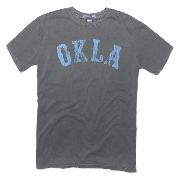 Flocked OKLA Tee