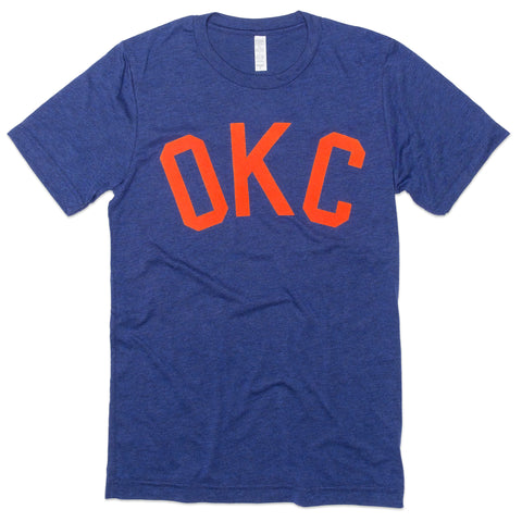 Flocked OKC Tee