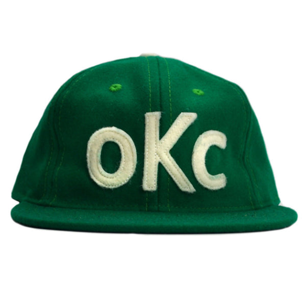 Ebbets OKC Green Wool Hat