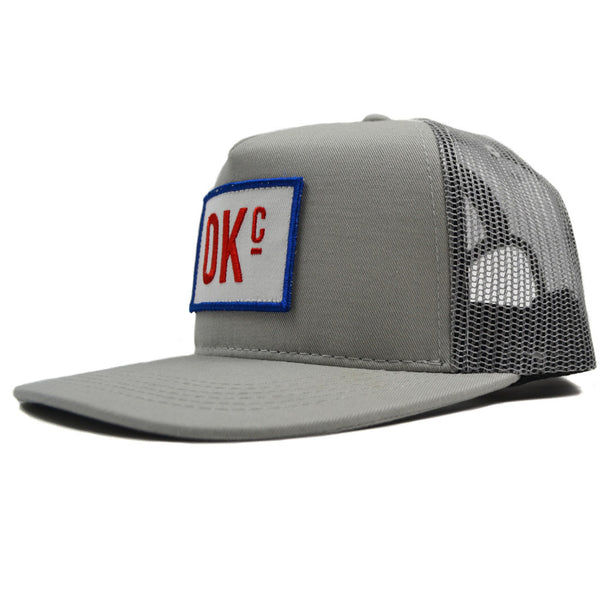 OKc Grey Trucker Hat