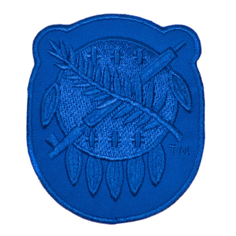 Blue Osage Shield Patch