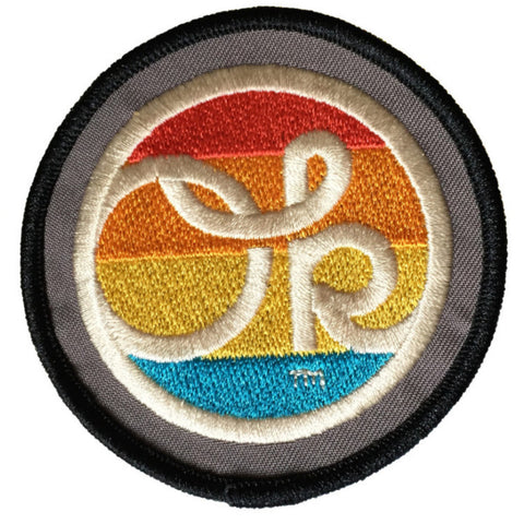 Rainbow Dot OK Patch