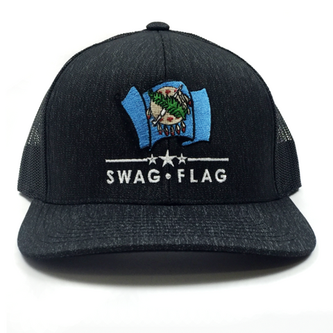 Swag Flag Trucker Mesh Hat