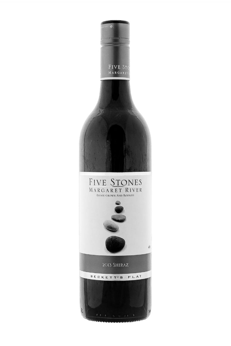 Beckett's Flat Five Stones 2013 Shiraz