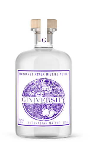 Giniversity Australian Native Gin 40% (500ml) - Audacity Wines